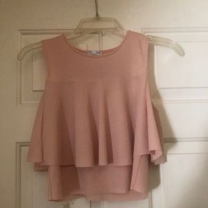 Blush pink Zara Blouse